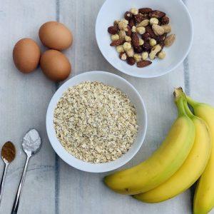 gezond bananenbrood ingrediënten